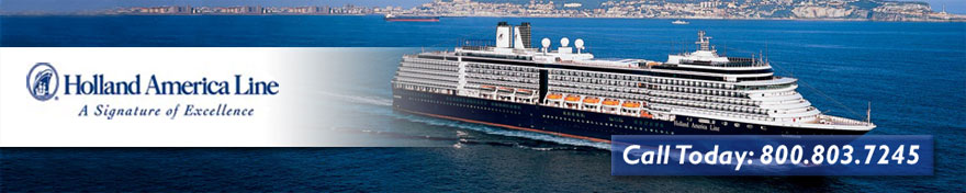Book your holland america cruise vacation with CVC